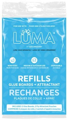 Luma Catchmaster Refills - Glue Board and Attractant Flying Insect Refill