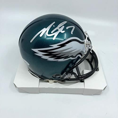 - Michael Vick Philadelphia Eagles Signed Autograph Mini Helmet Helmet JSA Witnessed Certified