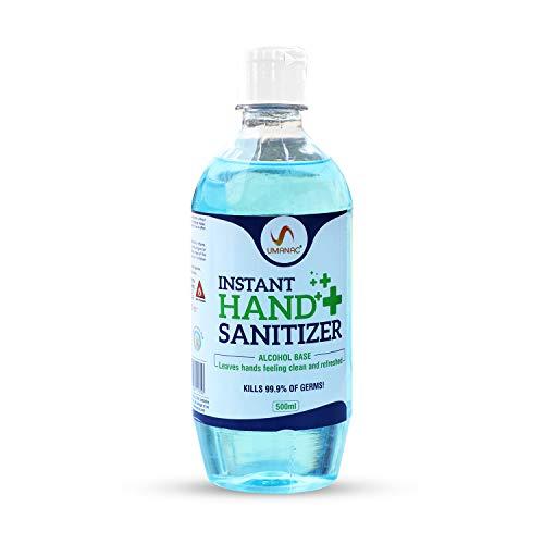 Umanac Instant Hand Sanitizer, 500 ML (80% Alcohol)