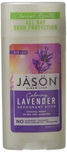 Jason Calming Lavender Aluminum and Paraben Free Deodorant Stick, 2.5 Ounce ()