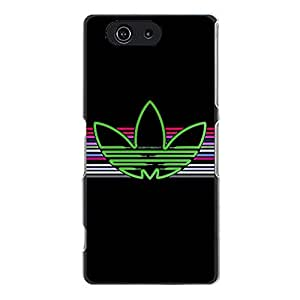 Adidas Cell Phone Case Creative Design the Logo of Adidas Durable Cover Case for Sony Xperia Z3 Compact Mini