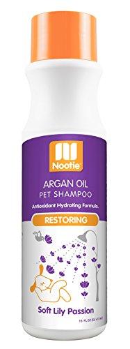 (Nootie Restoring Argon Oil Pet Shampoo, Soft Lilly Passion 16oz)