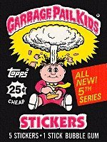Topps Garbage Pail Kids 5th Series Unopened Pack