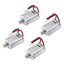 Hooray Service 4Pcs/Pack CW & CCW Motor Spare Parts For Syma X8C X8W X8G RC Quadcopter Drone