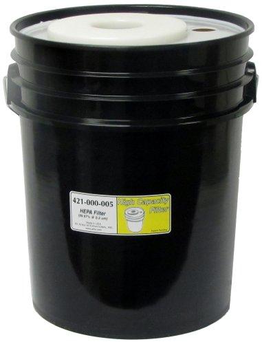 Atrix - 421-000-005 5-Gallon HEPA Bucket Replacement Filter for ATIHCTV5 and ATIHCTV5CT Atrix Bucket Style Vacuum