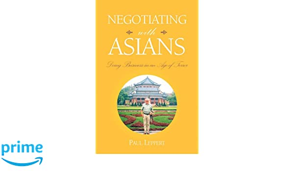 Book business with asians you incorrect