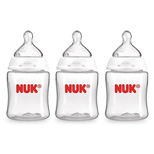 NUK 3 Piece Clear Bo…