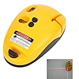 2-Line Laser Level Meter Mouse Type Right-angle Level Marking Device(Orange)