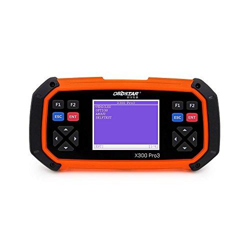 OBDSTAR X300 PRO3 Key Master OBDII X-300 Key Programmer Odometer Correction Tool EEPROM/PIC Update Online
