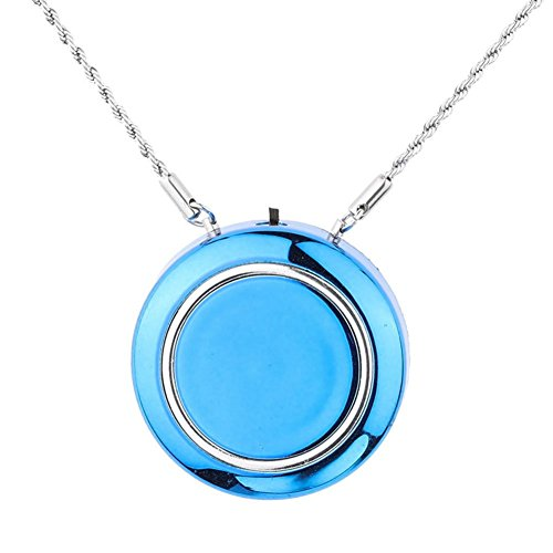 Best Deals! WOOLALA Personal Wearable Air Purifier Necklace/Mini Portable Air Freshner Ionizer/Negat...
