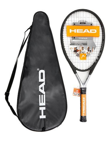 Head Ti S6 Titanium Tennis Racket, Grip Size- Grip 2: 4 1/4 inch by (Head Titanium Ti S6 Racquets)