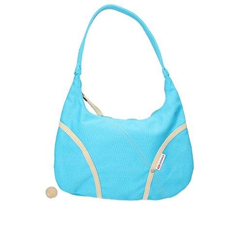 turquesa azul para de hombro mujer Superga Bolso Lona al wzq8a