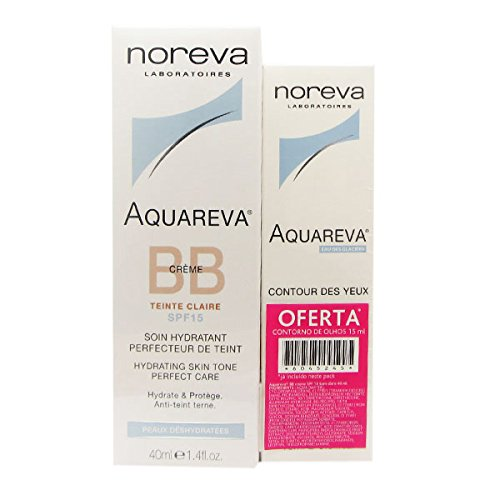 Noreva Gift Pack Aquareva Cream Bb Claire Spf15 40ml + Aquareva Eye Countour