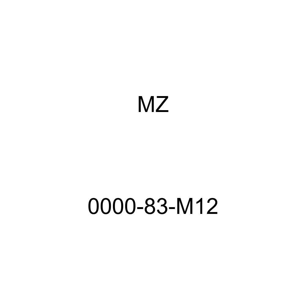 Mazda Genuine Accessories 0000-83-M12 License Plate Frame