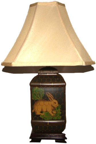 A Ray Of Light 12991 Rabbit Jar Table Lamp