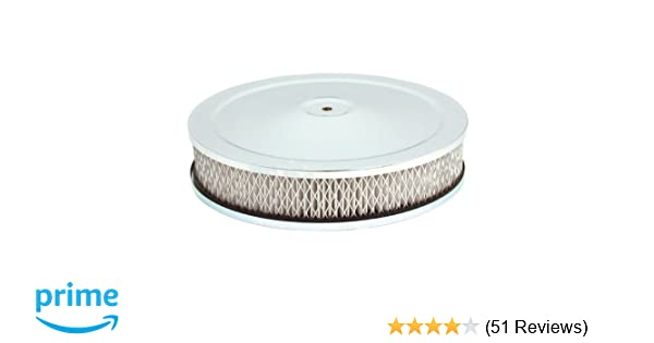 Flat Air Cleaner Base 14 Inch For 5 1//8 neck Size Carburetors Fits Ford Engines