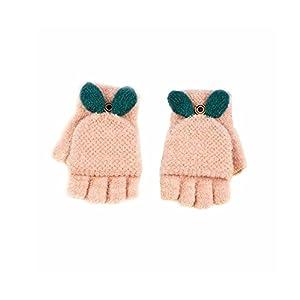 Baby Boys Girls Gloves,Kids Winter Gloves, Warm Mittens With Mitten Cover By AYUBOOM (pink)