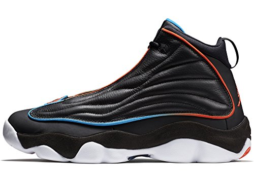 Strong white Black Pro Jordan Orange Blue Shoes Team Men's photo Basketball TFqEv