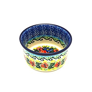 Polish Pottery Ramekin – Unikat Signature – U4610