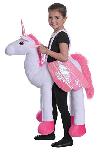 A Unicorn Riding Costume (Children's Riding Unicorn)