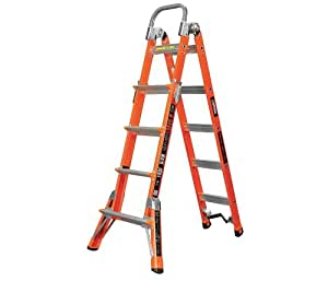 Multipurpose Ladder 6 Ft Ia Amazon Com