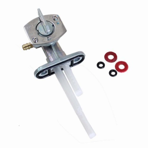 Poweka Fuel Tank Switch Valve Petcock for Yamaha Yfs200 Blaster 2000 2001 2002 2003 2004 2005 2006 New