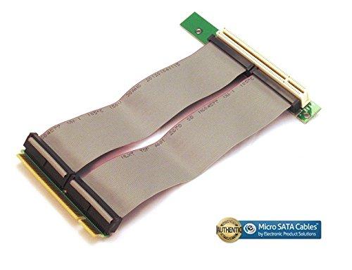 PCI 32 BIT Riser Card with Flex Cable Micro SATA Cables PCI-32BIT-CARD