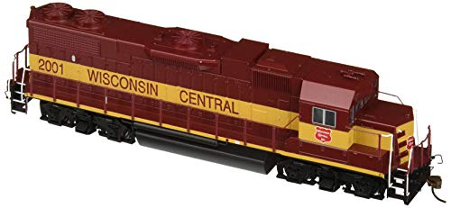 (Bachmann Industries Emd GP38-2 HO Scale #2001Diesel Wisconsin Central Locomotive )