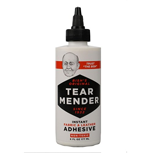 Tear Mender Fabric and Leather Cement by Tear Mender