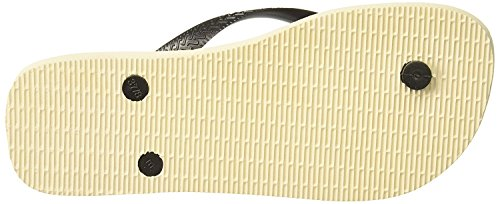 Havaianas Mens Marvel Sandaal Flip Flop (45 Br / 13 D (m) Ons, Beige / Zwart)