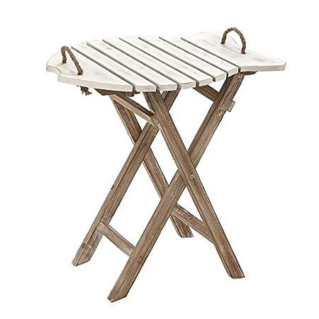 41-QJryAtUL._SS450_ 100+ Coastal End Tables and Beach End Tables