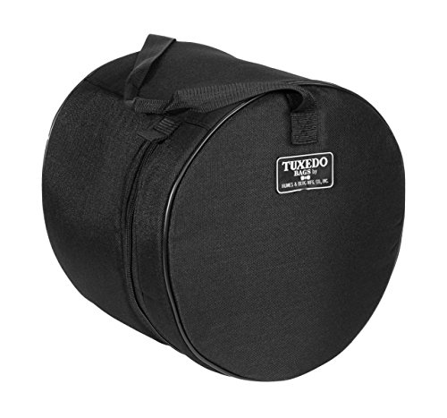 ag Set (12X14 SNARE, BLACK) (Tuxedo Drum Cases)