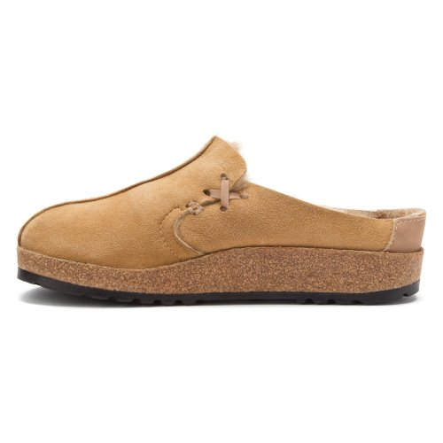 Haflinger Womens Saskatchewan Zoccoli Tan