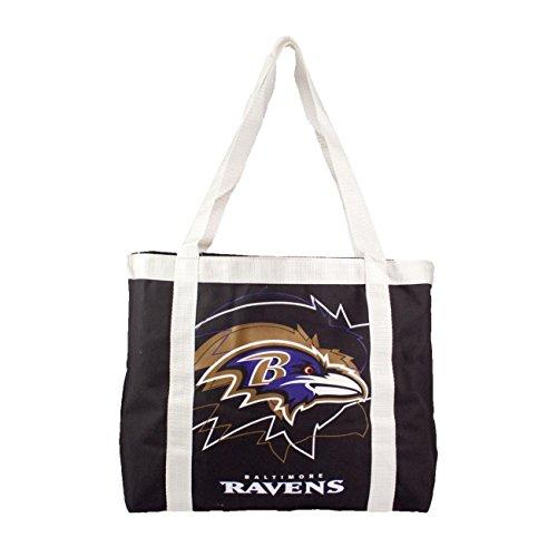 Littlearth NFL Team Tailgate Tote Bag (Baltimore Ravens)