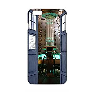 Angl 3D Case Cover Doctor Who Police Box Phone Case for iPhone6 plus