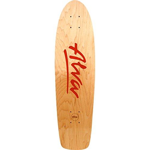 Alva Skateboards OG 1977 Maple Skateboard Deck with Grip Tape - 7.88