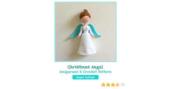 angel crochet amigurumi free pattern | Crochet xmas, Christmas ... | 315x600