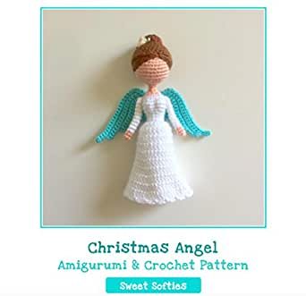 Amigurumi Angel Wings With Halo | 331x342