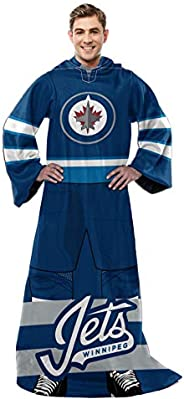 NHL Captain Comfy Throw - The Blanket with Sleeves