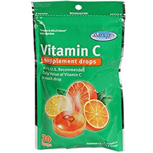 3 Bags of Vitamin C supplement drops (30drops) ea bag total of 90 drops