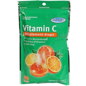 3 Bags of Vitamin C supplement drops (30drops) ea bag total of 90 drops