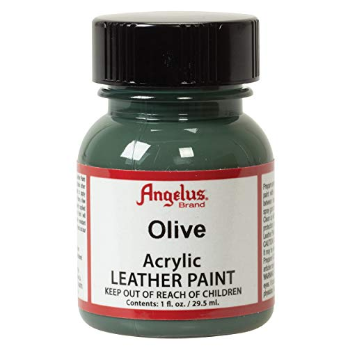 Angelus Acrylic Leather Paint, Olive