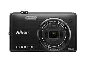 Nikon COOLPIX S5200 Wi-Fi CMOS Digital Camera with 6x Zoom Lens (Black) (OLD MODEL)