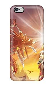 Carroll Lopez Fashion Protective Dragon Attack Case Cover For Iphone 6 Plus by mcsharks