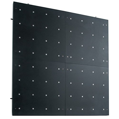 American Dj Flash - American DJ Flash Kling Panel 64 | 16 x 16 Flash Panel with 64 Tri RGB LED pixels with built-in Kling-Net protocal