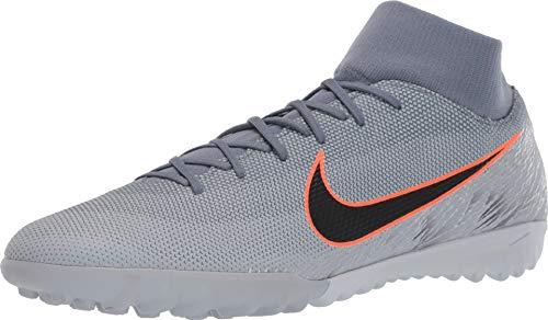(Nike Mercurial SuperflyX 6 Academy Turf Shoes (10 D US, Grey) )