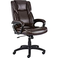 Staples Kelburne Luxura Office Chair (Brown)