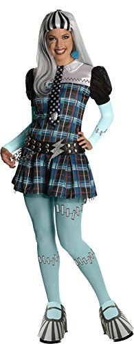 Adult-Costume Monster High Frankie Stein Adult Costume Md Halloween Costume -
