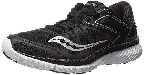 black saucony women's running shoes