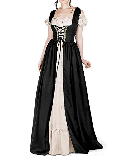 Pxmoda Womens Renaissance Costumes Medieval Irish Costume Chemise